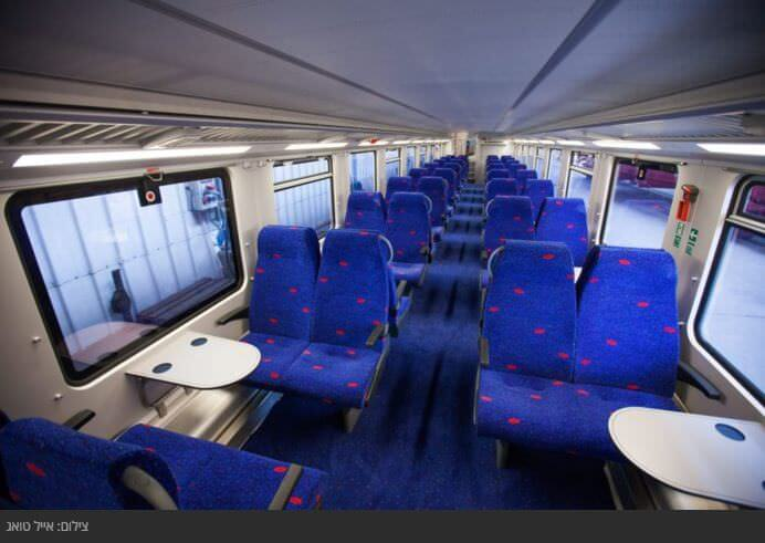 Поезда в Израиле распиание