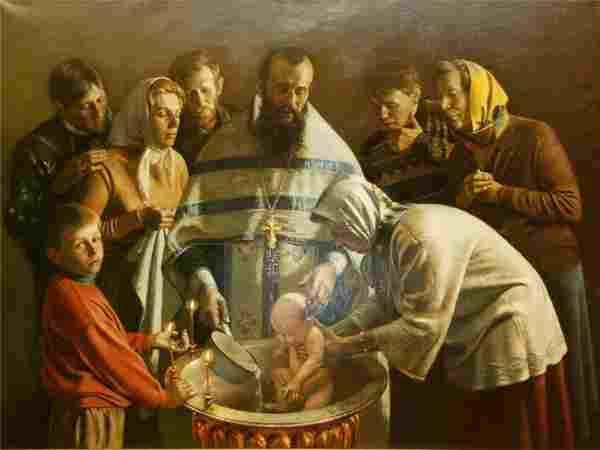 Крещение на святой земле Иерусалим, Палестина, Израиль