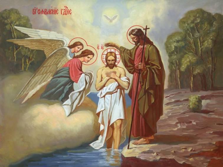 Крещение детей и взрослых в Израиле