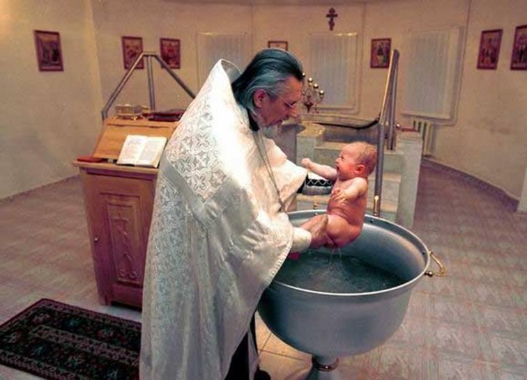 Организация крещения в Вифлееме