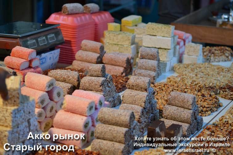 Акко - рынки и базары старого города