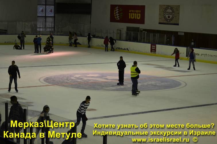 Центр спорта и отдыха Мерказ Канада в Метуле
