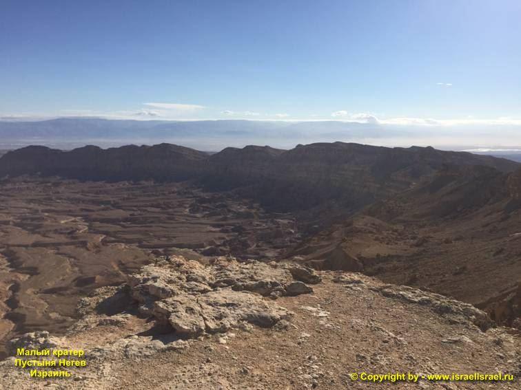 пустыня негев на карте