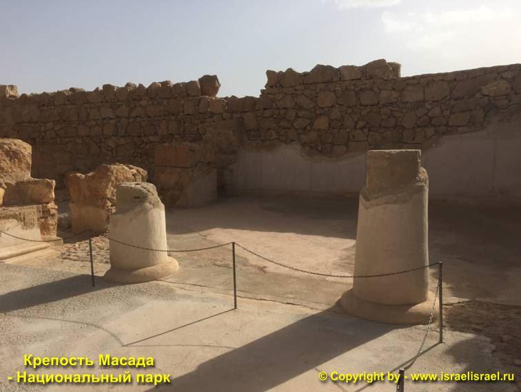 Крепость Масада в Израиле