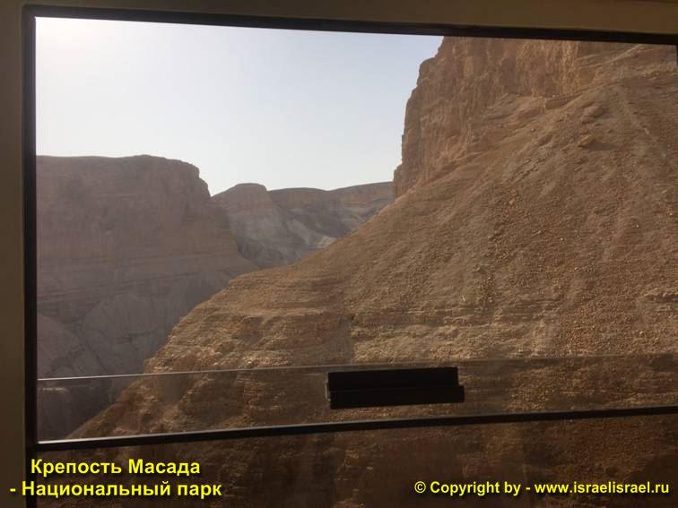 крепость масада на карте