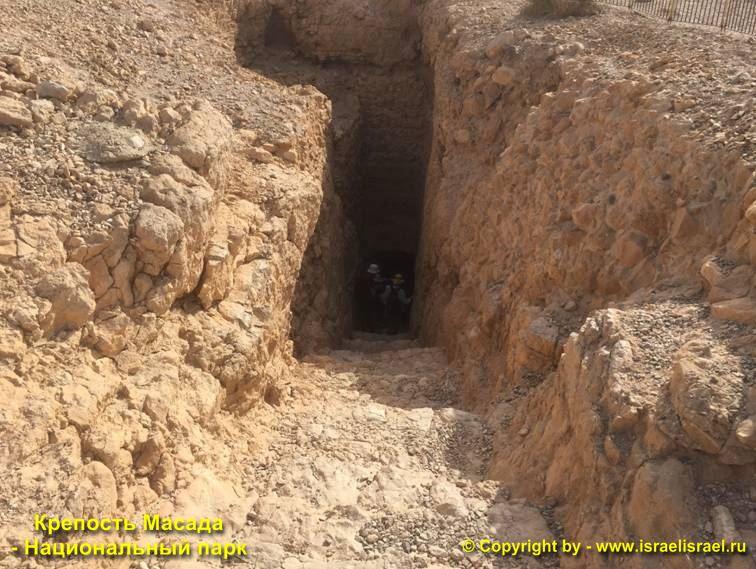 крепость массада википедия