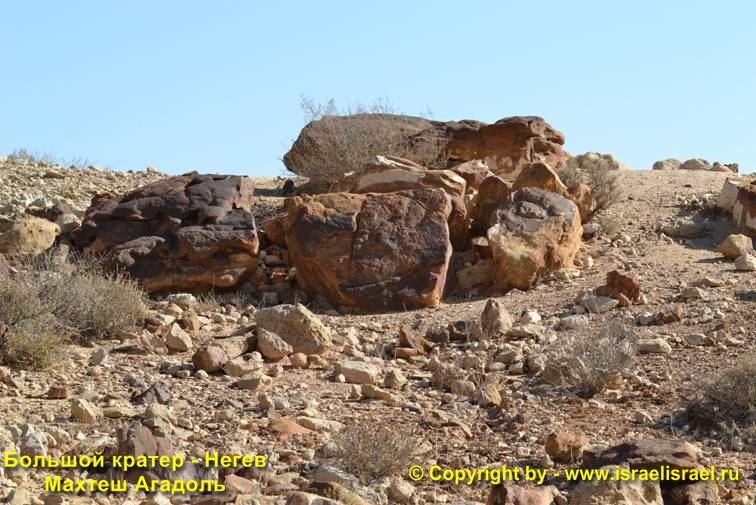 гид в Негев кратер