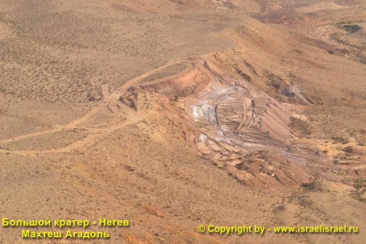 мицпе-рамон кратер
