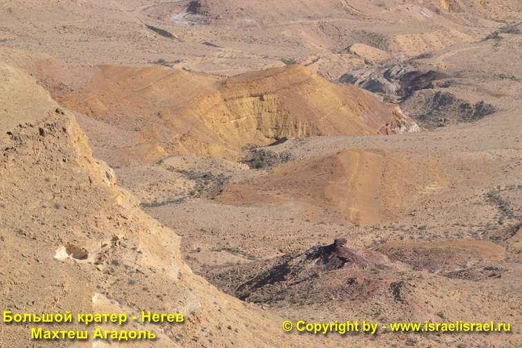 Негев большой кратер