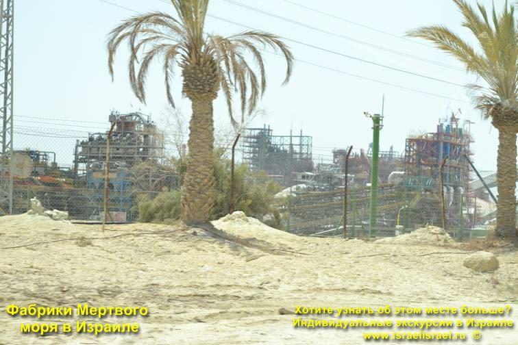 Израиль мертвое море фабрики