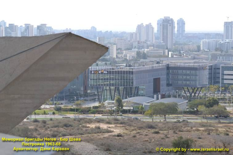 Монумент Негевской бригаде