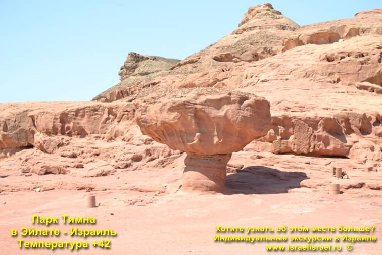 Opening hours in Timna Park