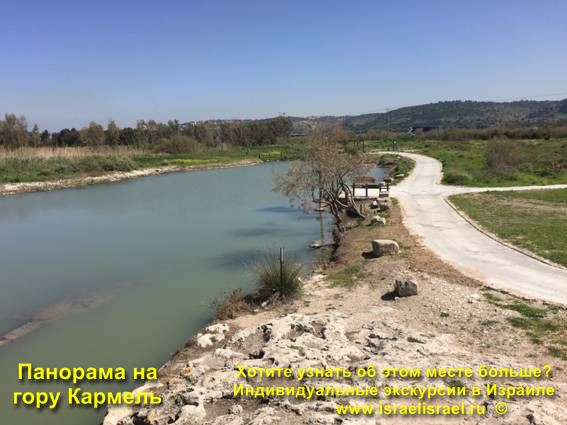 Панорама горы Кармель в Израиле