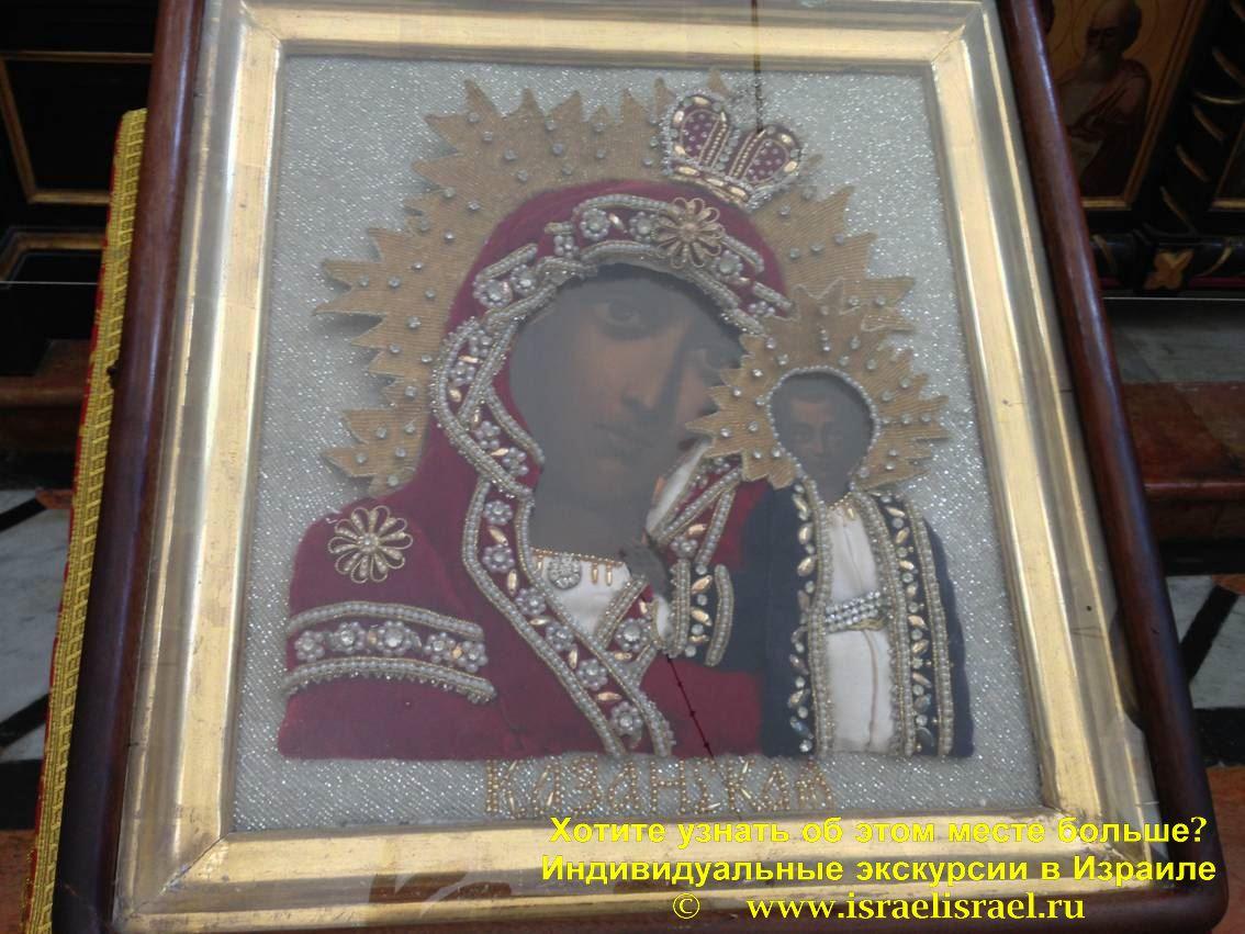 храмах Русской Духовной Миссии в Иерусалиме