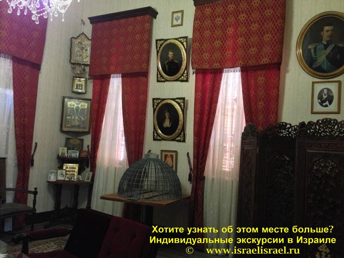 храм Александра невского Иерусалим