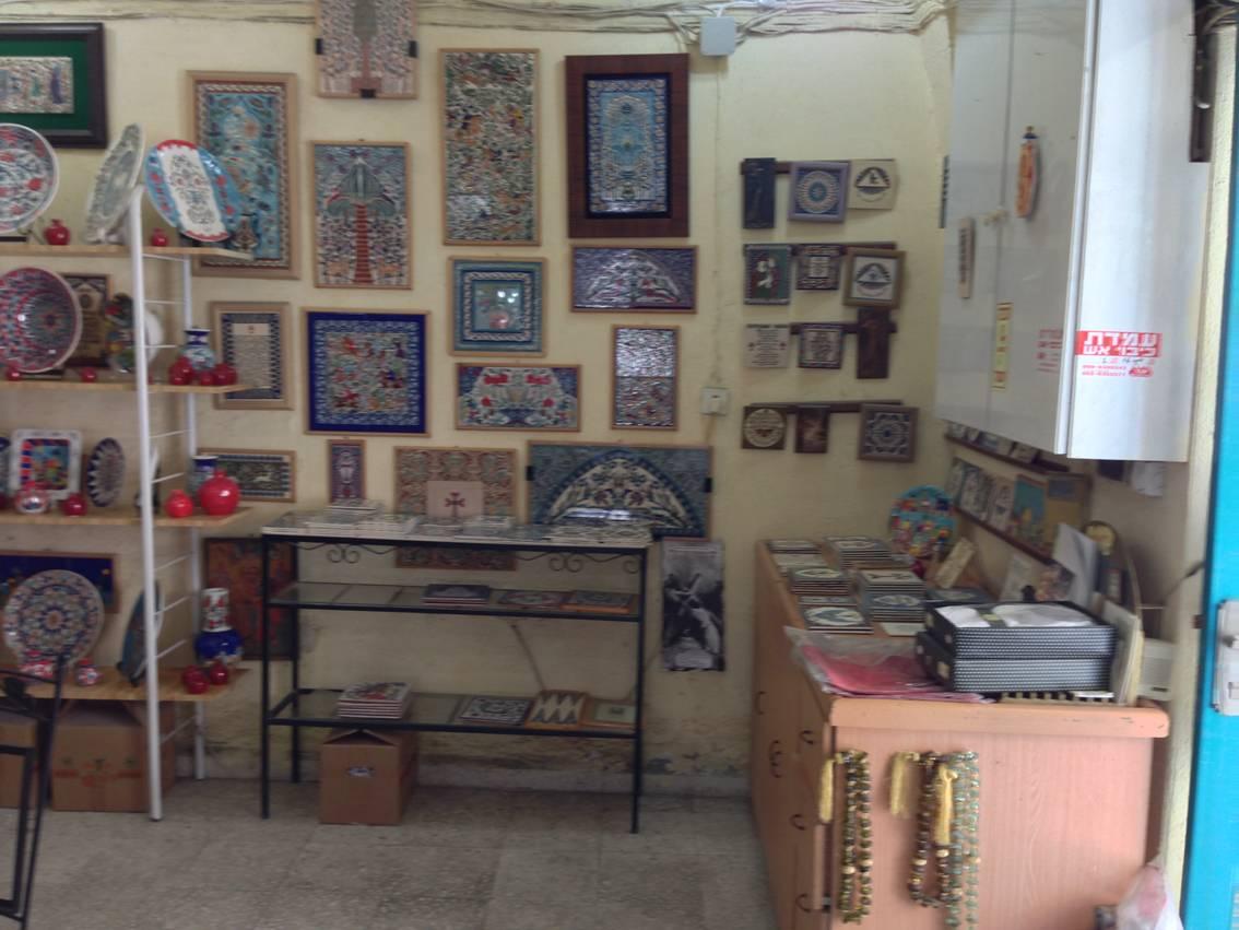 керамика ручной работы в Иерусалиме