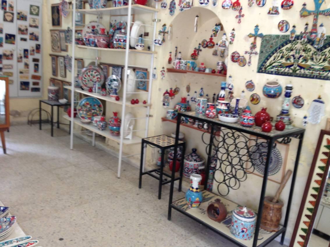 Армяне в Иерусалиме керамика