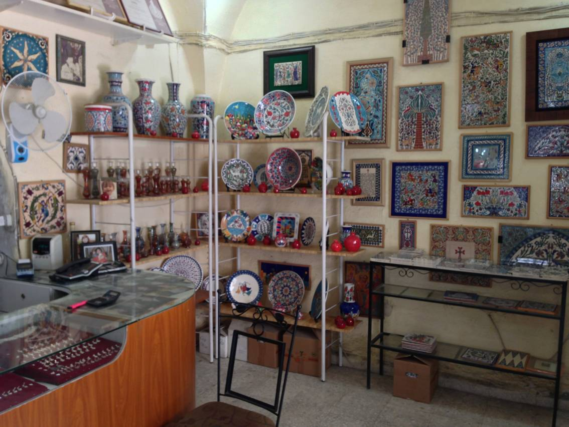 ачество армянской керамики в ИЕрусалиме