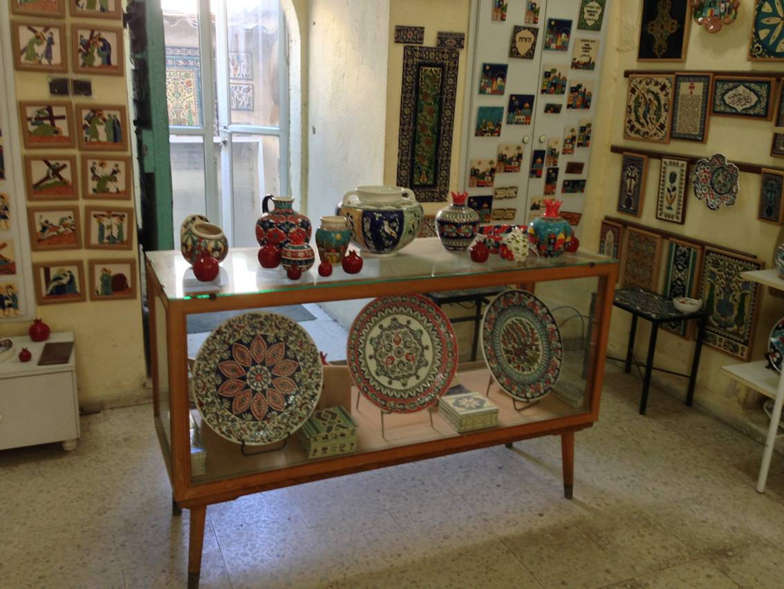 Сандруни керамика в Иерусалиме