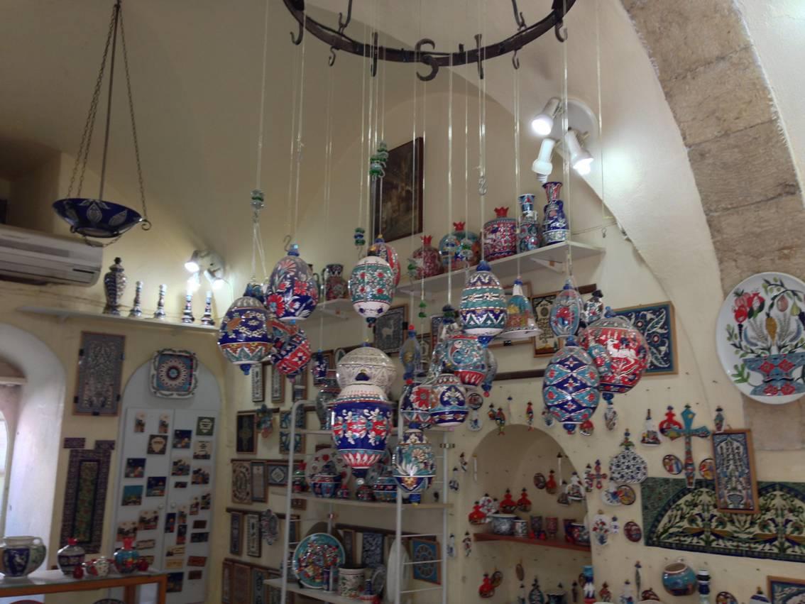 Откуда керамика в Иерусалиме