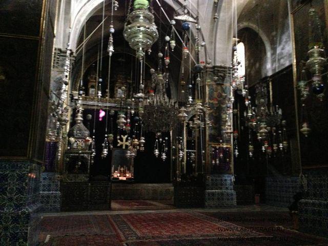 Армянская церковь святого Иакова в Иерусалиме трансфер такси в Израиле