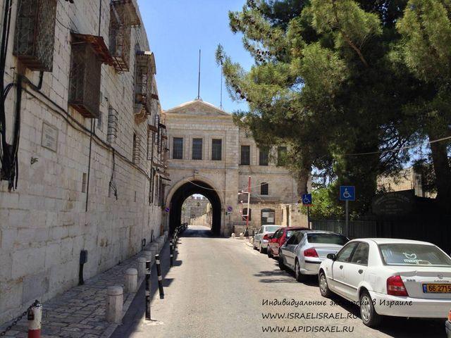 Рестораны в армянском квартале Иерусалима