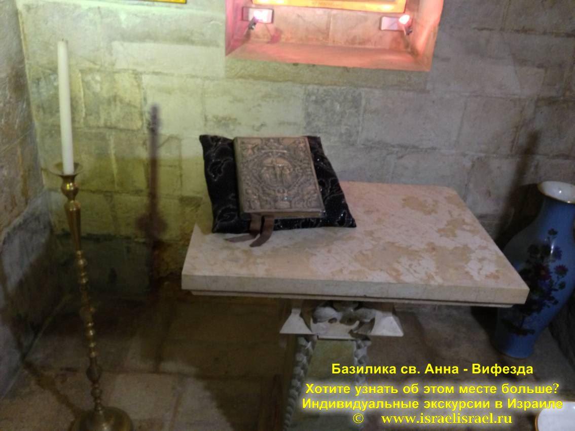 Иерусалим источник св. анны