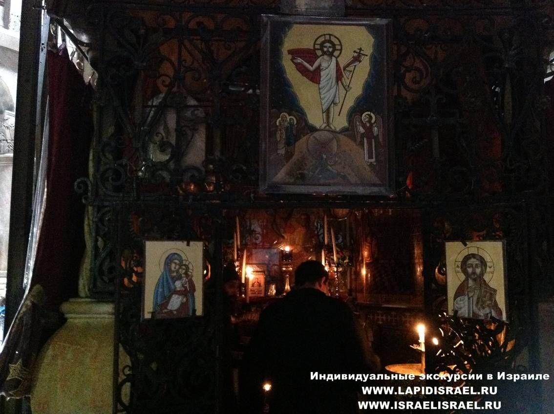 коптская церковь Храм гроба