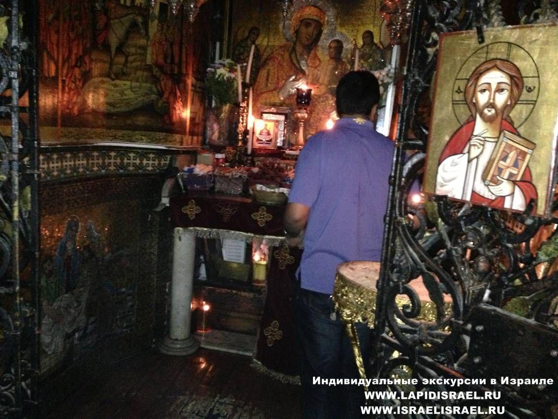 коптская церковь в лужение Иерусалим