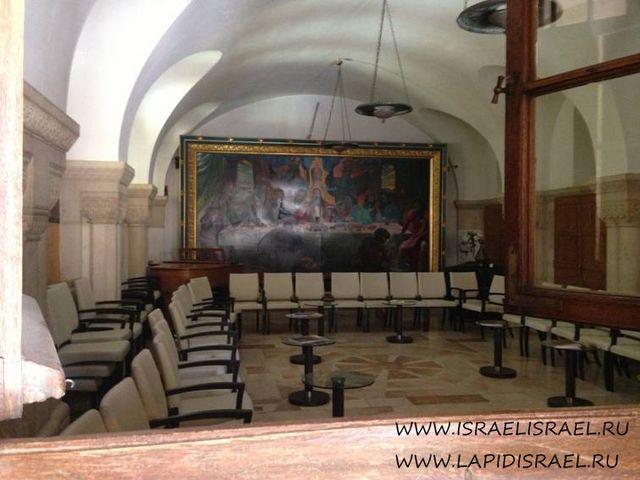Аббатство Дормицион на Сионской горе в Иерусалиме гид в Тель Авиве