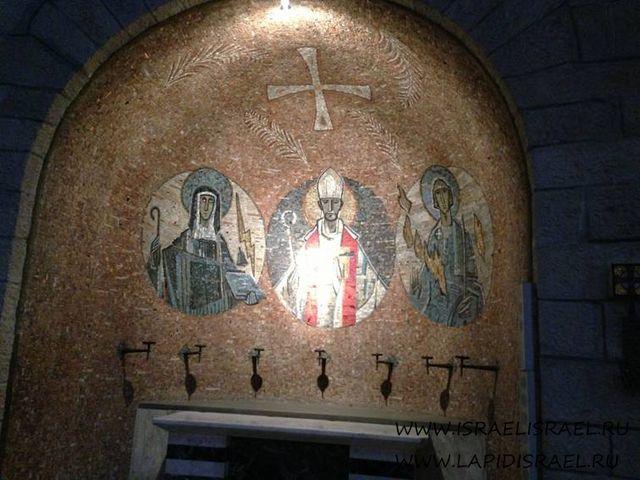 Мария на горе Сион