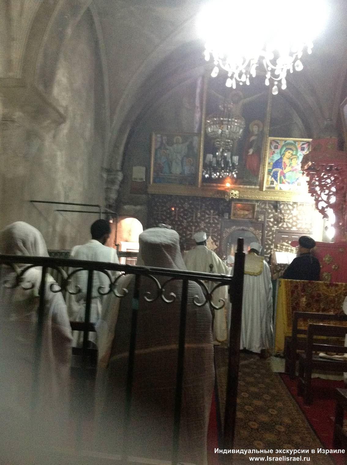 эфиопская церковь в иерусалиме