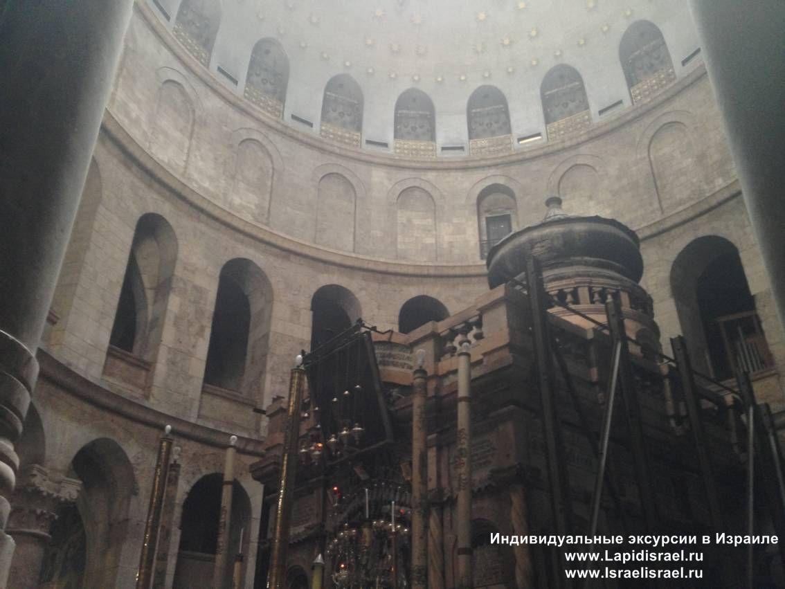 реставрация кувуклии гроба господня