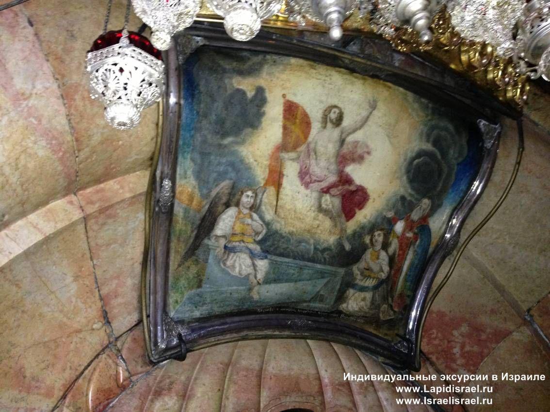 где находится гробница иисуса христа