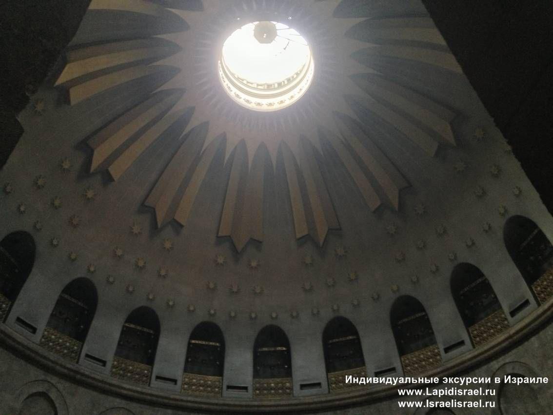 кувуклии в храме гроба господнего в иерусалиме
