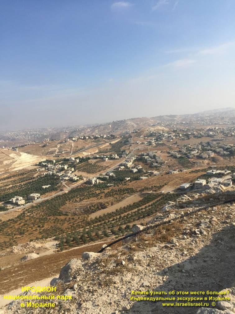 Иродион Экскурсии в Израиле