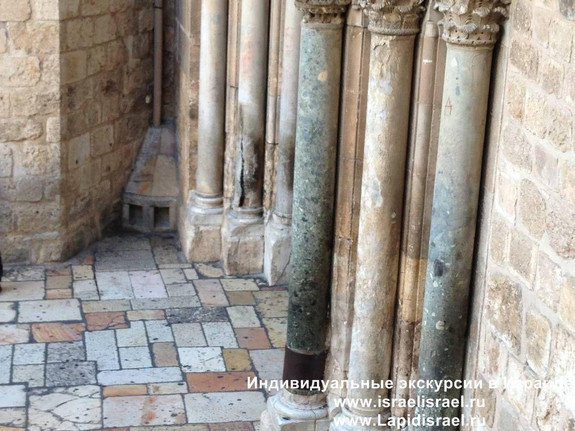 Куда ударила молния в Иерусалиме Храм
