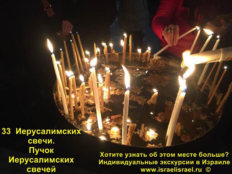 Где купить Иерусалимские свечи