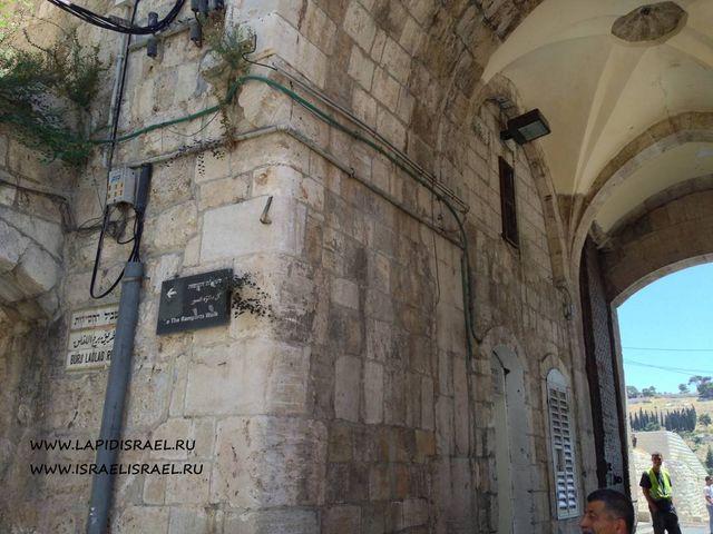 львиные ворота в Иерусалиме Султан сулейман