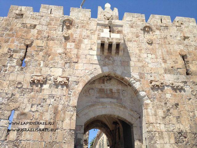 львиные ворота старый город