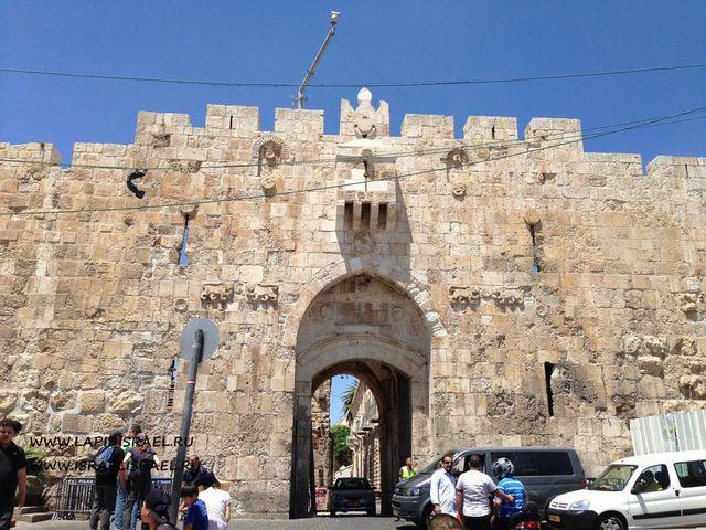 Израиль львиные ворота
