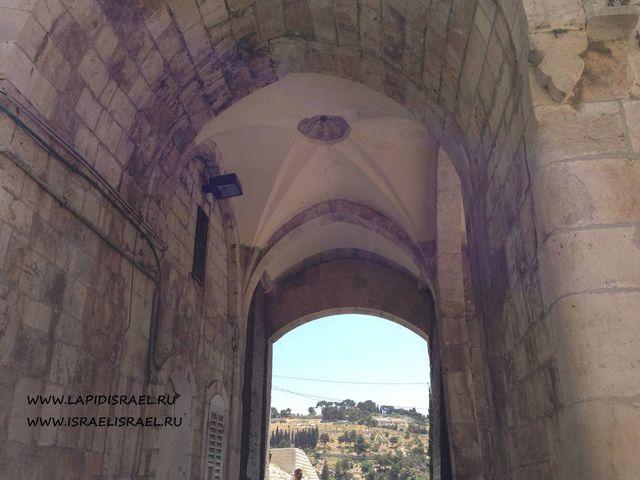 Как пройти к Львиным воротам Иерусалима