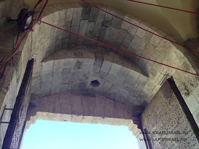 Ворота Иерусалима на карте