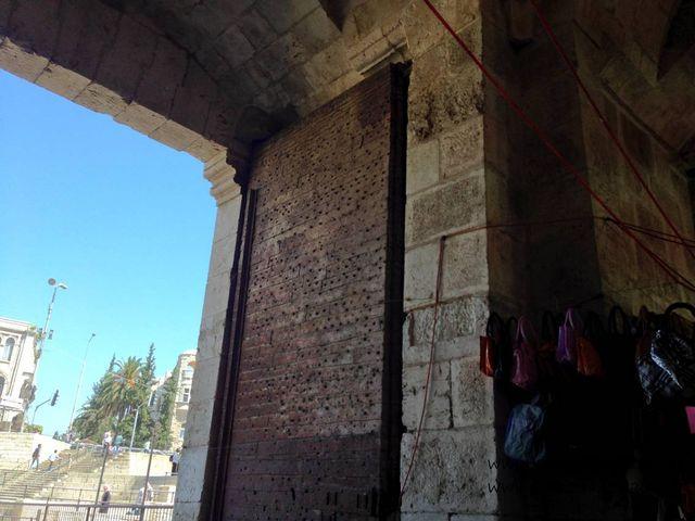 Полиция Дамасские ворота Иерусалима