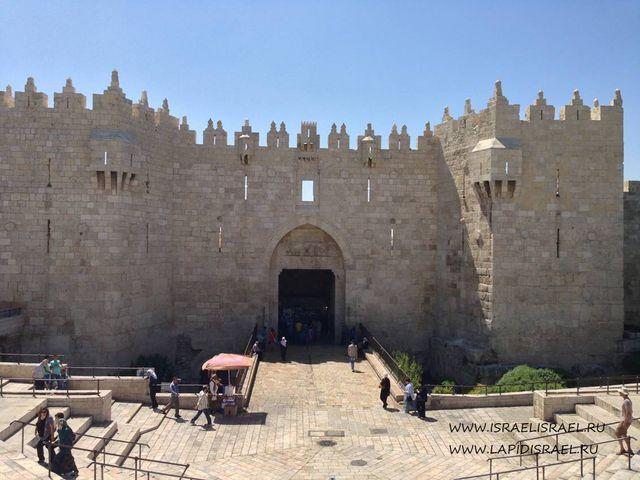 Дамасские ворота Иерусалима или Шхемские Индивидуальные экскурсии в Израиле