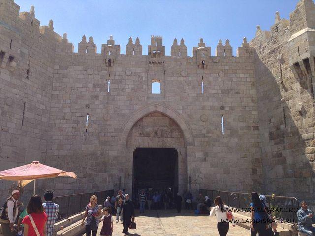 Мусульманские ворота Иерусалима