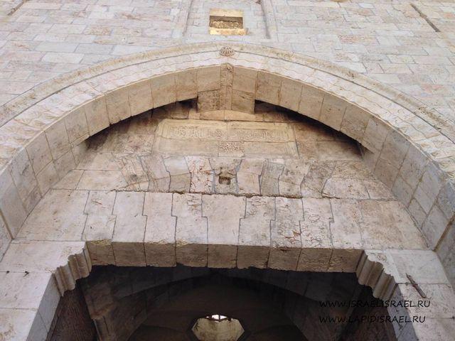 Достопримечательности Дамасские ворота Иерусалима