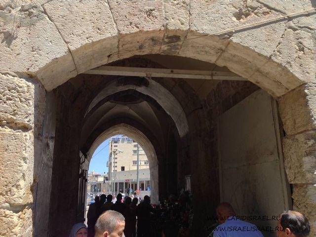 ворота Ирода Иерусалим