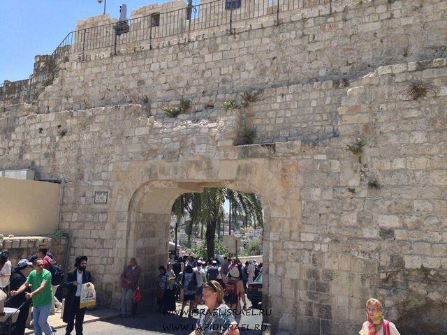 Иерусалим старый город ворота Иерусалима