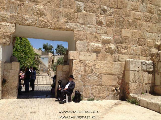 Иерусалим подойти к мусорным воротам